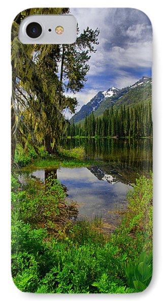 Lake Tucquala Phone Case by Michael  Ayers