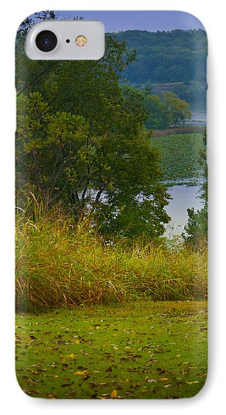 IPhone Case featuring the photograph Lake View by Lena Wilhite