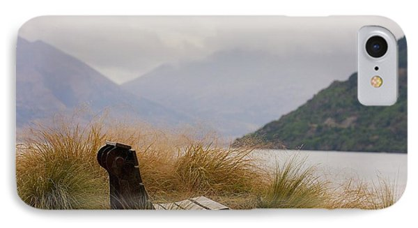 Lake Wakatipu Bench IPhone Case by Stuart Litoff