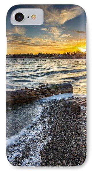 Lake Yankton Vertical IPhone Case by Aaron J Groen