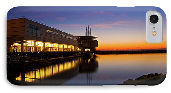 IPhone Case featuring the photograph Lakefront Sunrise by Jonah  Anderson
