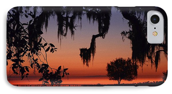 Lakefront Sunset IPhone Case