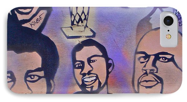 Lakers Love Jerry Buss 1 Phone Case by Tony B Conscious