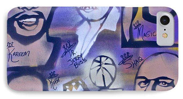Lakers Love Jerry Buss 2 Phone Case by Tony B Conscious