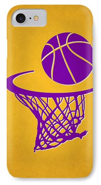Lakers Team Hoop2 IPhone Case