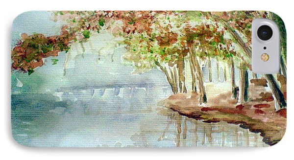 Lakeside In The Carolinas IPhone Case by Ahonu