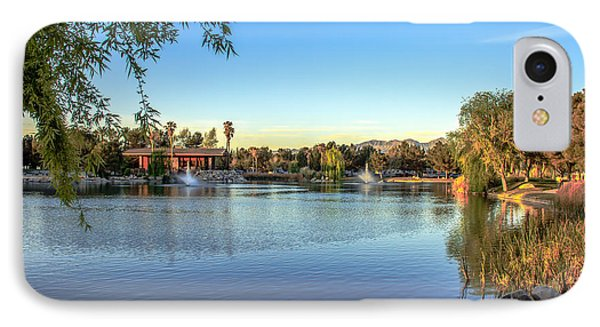 Lakeside Rv Park IPhone Case by Robert Bales
