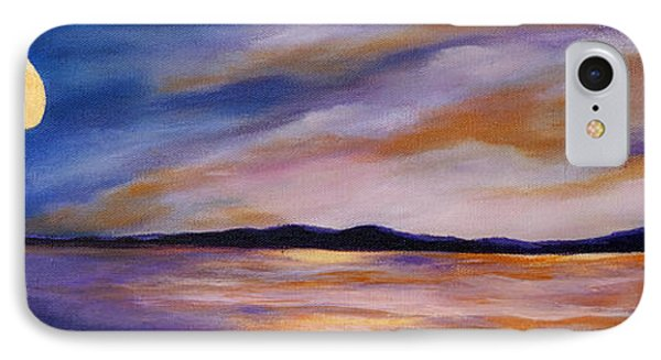 Lakeside Sunset IPhone Case by Michelle Joseph-Long