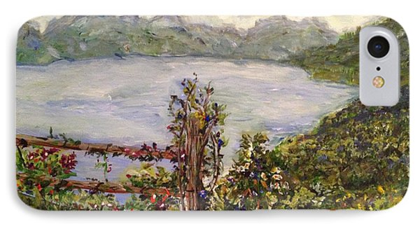 IPhone Case featuring the painting Lakeview by Belinda Low