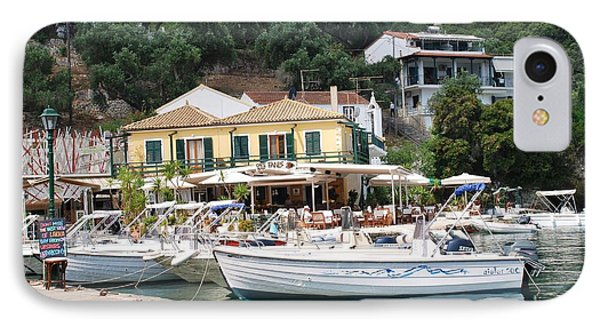 Lakka Harbour On Paxos IPhone Case