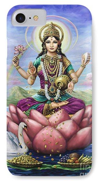 Lakshmi Goddess Of Fortune IPhone Case