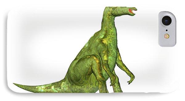 Lambeosaurus Dinosaur IPhone Case by Friedrich Saurer
