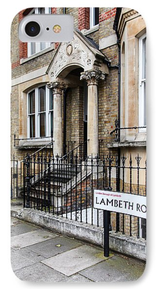 IPhone Case featuring the photograph Lambeth Road by Ross Henton