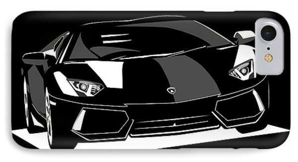 Lamborghini Aventador IPhone Case