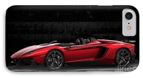 Lamborghini Aventador Roadster IPhone Case