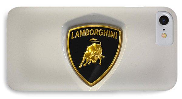Lamborghini Badge IPhone Case