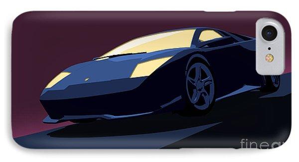Lamborghini Murcielago - Pop Art Phone Case by Pixel  Chimp