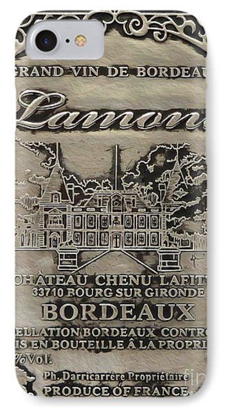 Lamont Grand Vin De Bordeaux  IPhone Case