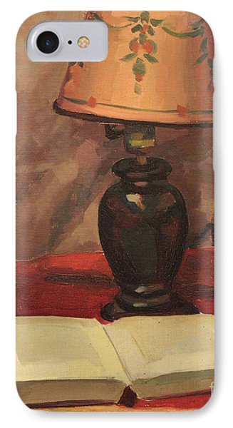Lamp And Book 1929 IPhone Case