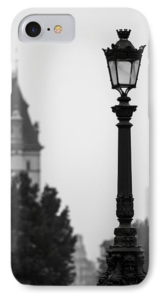 Lamppost At Pont Neuf Paris IPhone Case