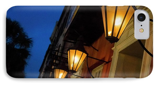 Lamps Lining The Streets At Duck IPhone Case