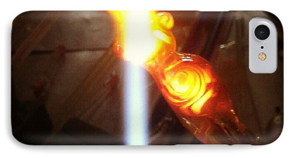 Lampwork Goddess Phone Case by Deenie Wallace