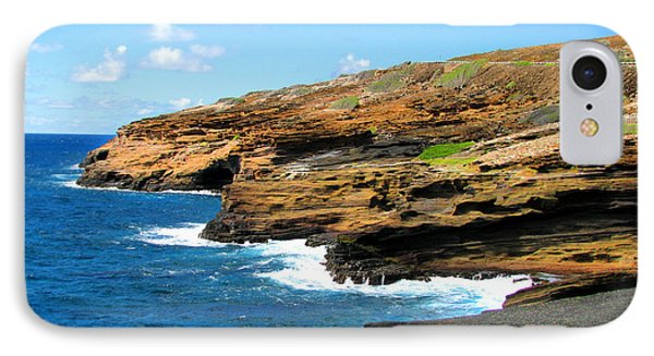 IPhone Case featuring the photograph Lanai Lookout by Kristine Merc