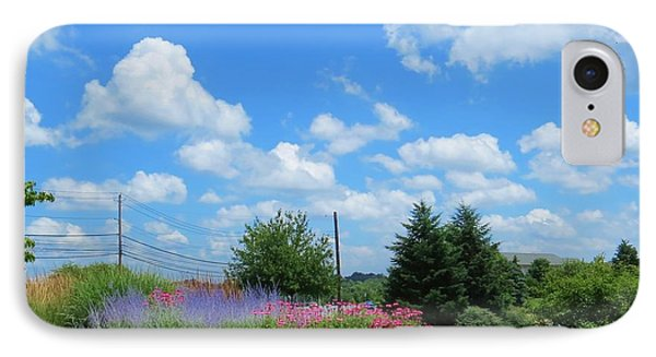 IPhone Case featuring the photograph Lancaster County Pa Summer Day by Jeanette Oberholtzer