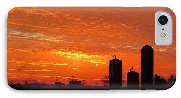 Lancaster County Sunset IPhone Case