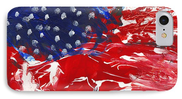 Land Of Liberty Phone Case by Luz Elena Aponte