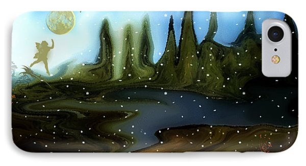 IPhone Case featuring the painting Land Of The Fairies  For Kids by Sherri  Of Palm Springs