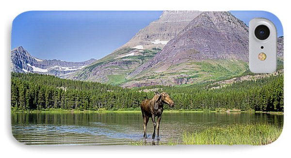 Land Of The Moose IPhone Case by Jack Bell
