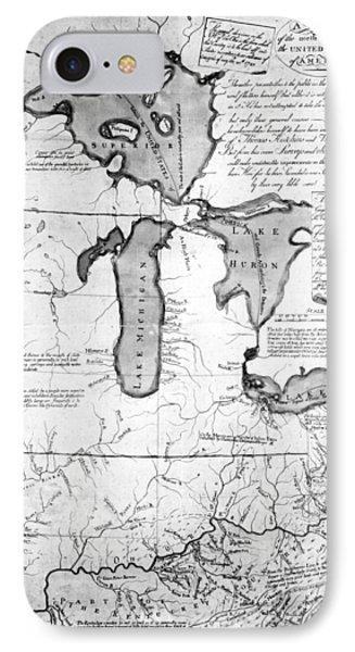 Land Ordinance, 1785 IPhone Case by Granger