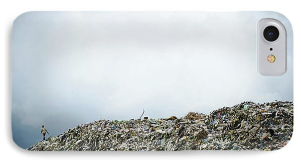 Landfill IPhone Case by Matthew Oldfield