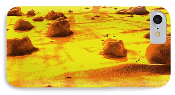 Landing On Mars 3 IPhone Case by Michael Grubb