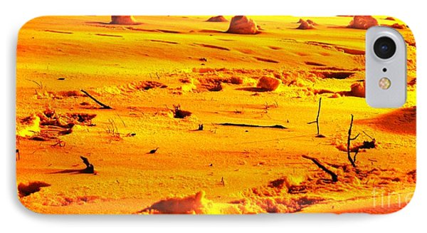 Landing On Mars IPhone Case by Michael Grubb