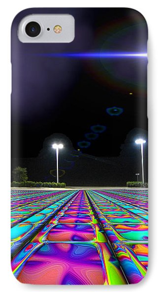 Landing Pad 5 A M Phone Case by Wendy J St Christopher