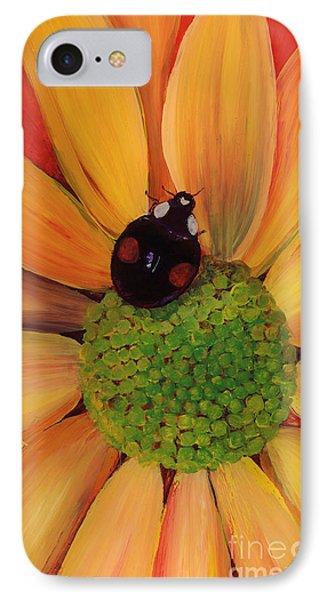 IPhone Case featuring the painting Landing Pad by Anna Skaradzinska