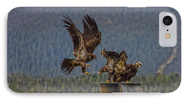IPhone Case featuring the photograph Landing by Timothy Latta
