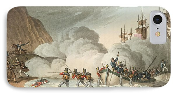 Landing Troops IPhone Case by British Library