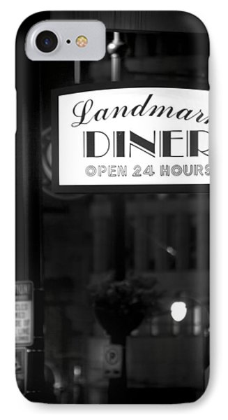Landmark Diner IPhone Case by Mark Andrew Thomas
