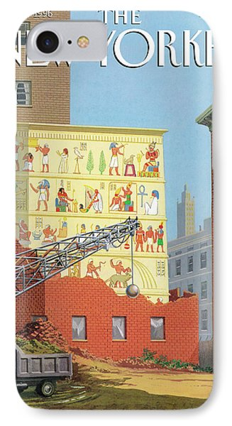 Landmarks Commission To Meet In Special Session IPhone Case by Bruce McCall