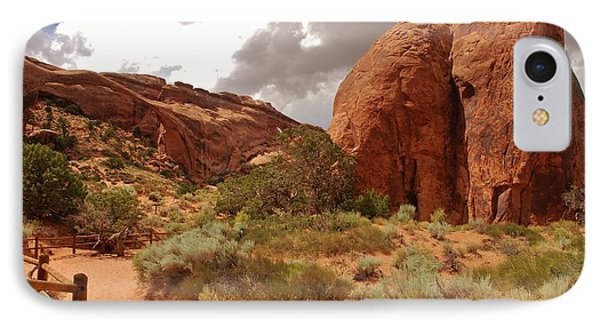 Landscape Arch - Utah IPhone Case