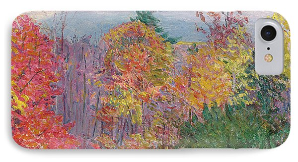 Landscape At Hancock In New Hampshire IPhone Case by Lilla Cabot Perry