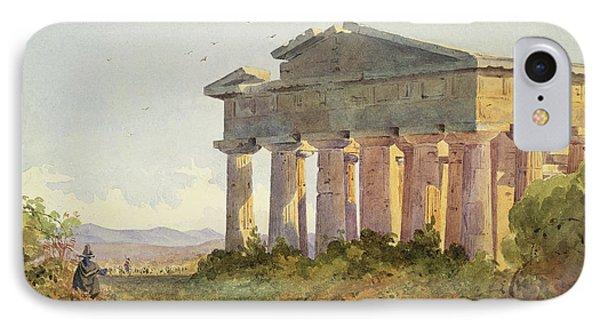 Landscape At Paestum Phone Case by Arthur Glennie