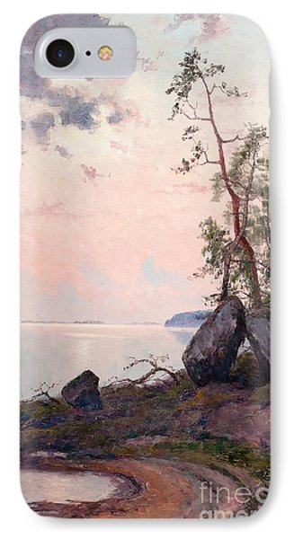 Landscape By The Lake IPhone Case