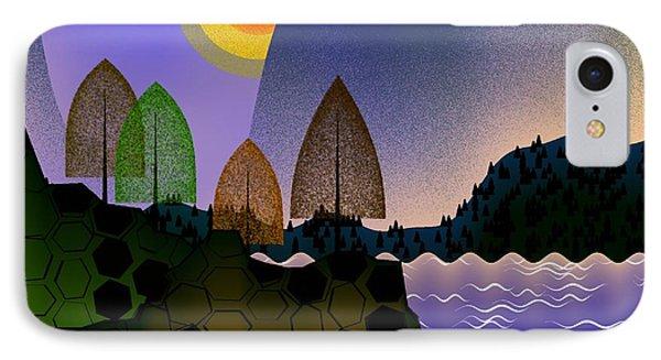 Landscape Phone Case by GuoJun Pan