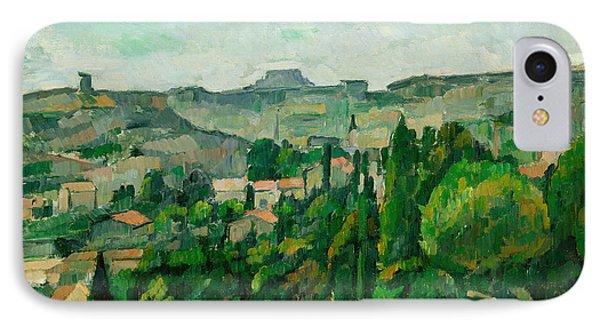 Landscape In The Ile-de-france Phone Case by Paul Cezanne