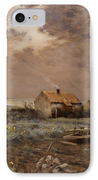 Landscape IPhone Case by Jean Charles Cazin