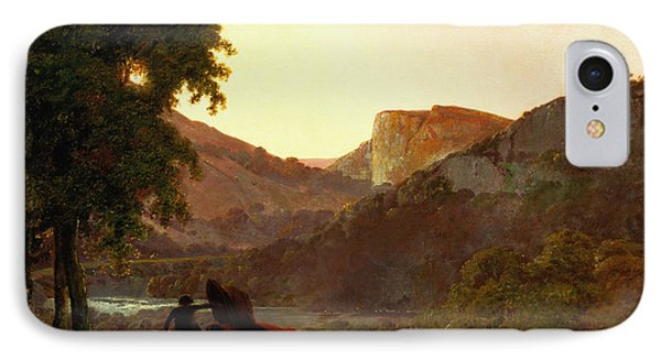 Landscape IPhone Case by Joseph Wright of Derby
